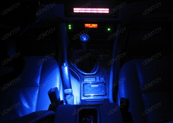BMW - E39 - 525i - LED - car - interior - lights - 3